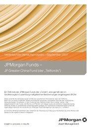 JPMorgan Funds – - primeit.eu