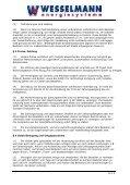 Allgemeine Geschäftsbedingungen (AGB) der Wesselmann ... - Seite 2