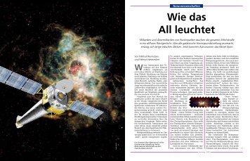 Wie das All leuchtet - Universe Cluster