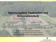Spannungsfeld Tierkomfort und Emissionsschutz - LAZBW
