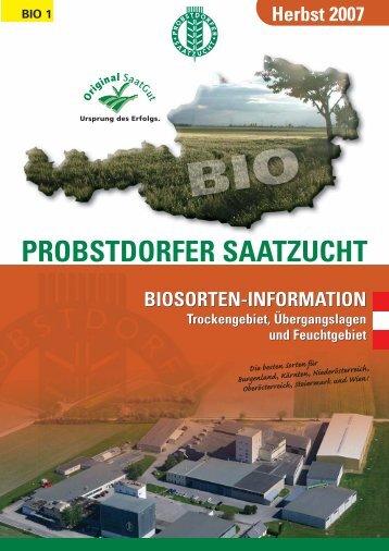 BIO 4 - Probstdorfer Saatzucht Slovakia