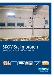 DA 174 DA 75 Stellmotoren - Skov A/S