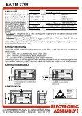 EA TM-7760 6-ST. DURCHFLUSSMESSER + ... - LCD elementy - Seite 4