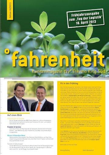 Ausgabe 2. Quartal 2013 (PDF: 3 MB) - THERMO KING SÜD