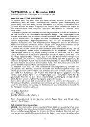 PSITTASCENE, Nr. 4, November 2010 - World Parrot Trust