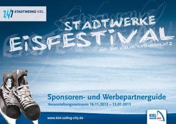Sponsoren- und Werbepartnerguide - Kiel
