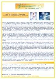 Der Gott- Göttinnen-Code