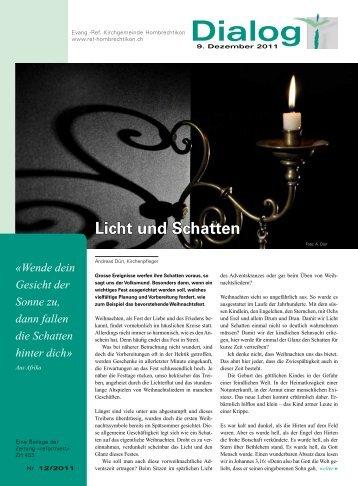 PDF 4,6 MB - Reformierte Kirchgemeinde Hombrechtikon