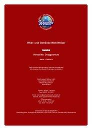 Katalog für Hersteller: Cragganmore - The Whisky Trader