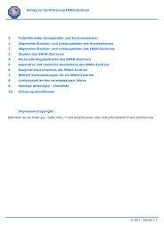Antrag zur Zertifizierung EMAH-Zentrum 1. Allgemeine Struktur- und ...