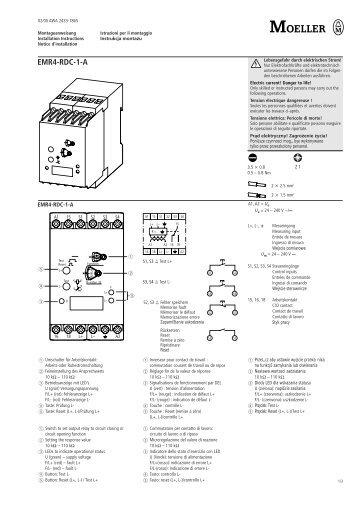 EMR4-RDC-1-A - Moeller