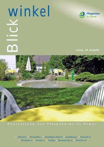 Blickwinkel 2 2013.pdf - Pflegeheim St.Otmar