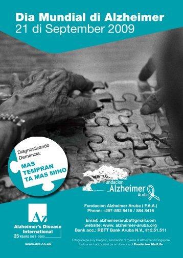 WAD '09 Bulletin Papiamento - Fundacion Alzheimer Aruba