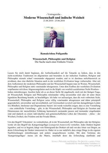 The Quest for a unitary Vision - Getrav.de