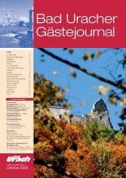 Oktober 2009 (PDF) - Bad Urach