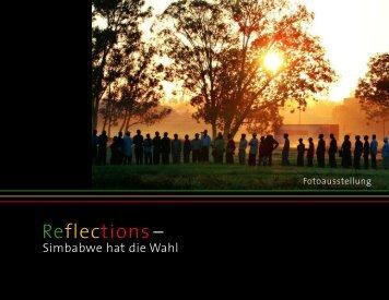 Katalog zur Ausstellung - Reflections - Simbabwe hat die Wahl