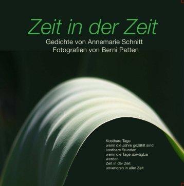 Zeit in der Zeit - Das lyrische Bilderbuch von Annemarie Schnitt