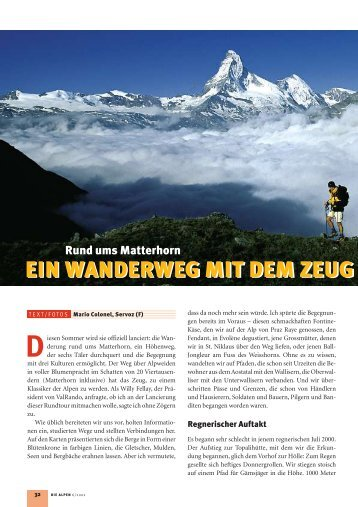 Matterhorn - SAC Sektion Saas