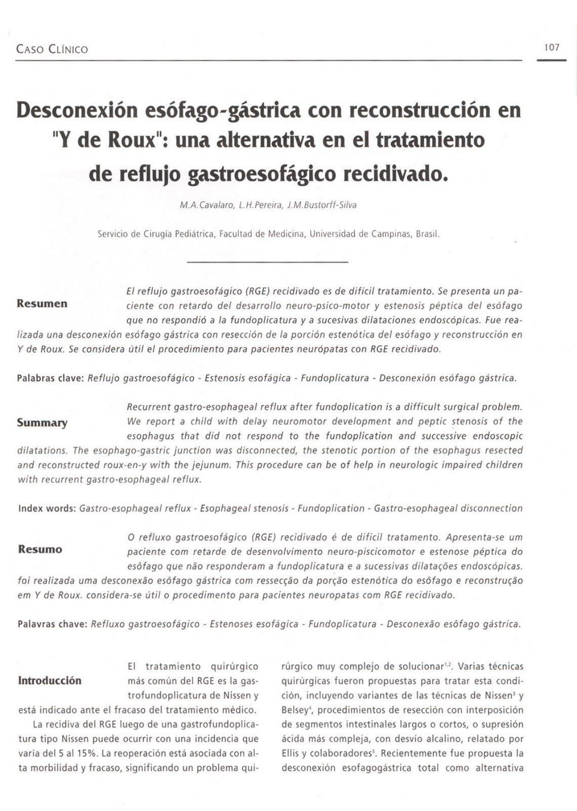 Atractivo Nissen Fundoplicatura De La Anatomía Embellecimiento ...