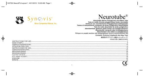 12375G NeuroIFU_Layout 1.qxd - Synovis Micro Companies Alliance