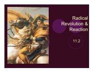 11.2 Radical Revolution & Reaction