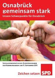 Osnabrück gemeinsam stark - SPD Osnabrück