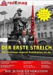REDeMAG Das Magazin der Jungen Generation in der SPÖ Graz