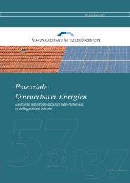 Potenziale Erneuerbarer Energien - Regionalverband Mittlerer ...