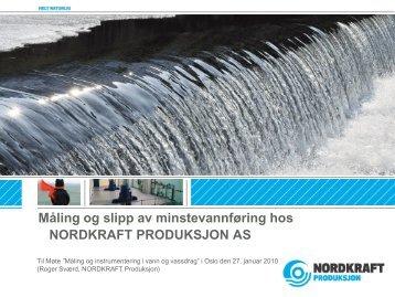 NORDKRAFT PRODUKSJON - Energi Norge