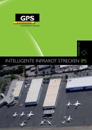 INTELLIGENTE INFRAROT STRECKEN IPS - GPS Standard