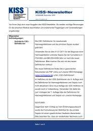 Dezember - Nationales Referenzzentrum für Surveillance ...