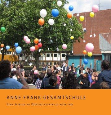Schulbroschüre - Anne-Frank-Gesamtschule