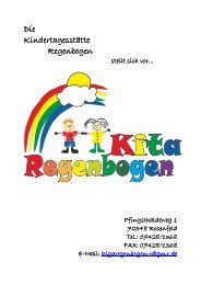 Konzeption der U3-Betreuung des Kindergarten ... - Rosenfeld