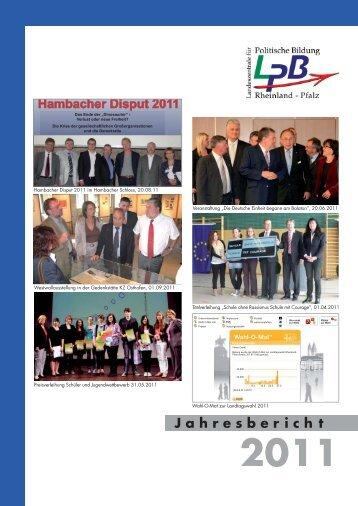 2011, (pdf 827 KB - Landeszentrale für politische Bildung Rheinland ...
