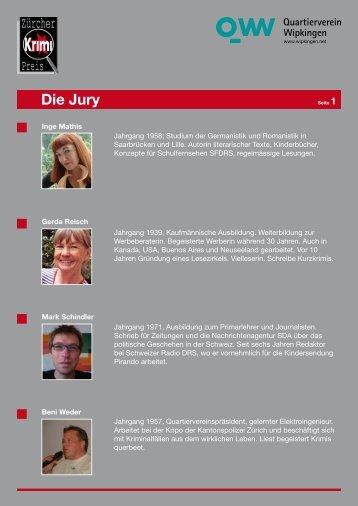 Die Jury - Zürcher Krimipreis