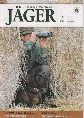 Test Bericht Rheinisch-Westfälischer Jäger 08/2011 - Minox