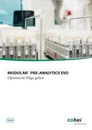 MODULAR® PRE-ANALYTICS EVO System - Roche Diagnostics