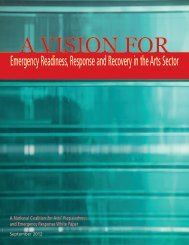 A Vision for Emergency Readiness, Response and Recovery in the ...