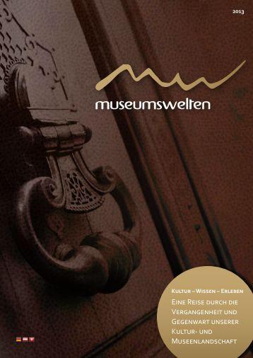 die zweite Ausgabe der museumswelten herunterladen.