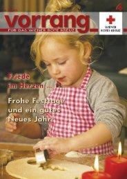 Vorrang, Ausgabe 4/2009 - Österreichisches Rotes Kreuz