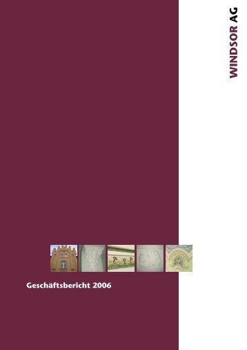 Geschäftsbericht 2006 - haemato ag