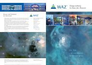 Faltblatt Gesamtgestaltung WAZ - Formbund