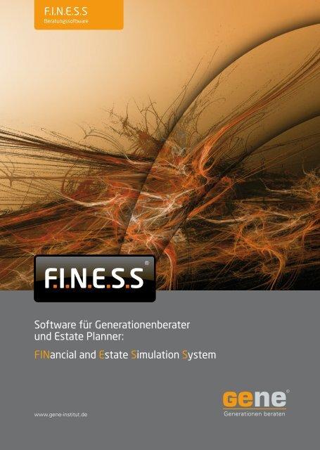 F.I.N.E.S.S - Software-Beschreibung - GeNe GmbH