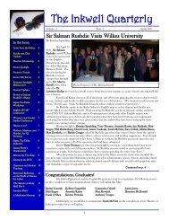 The Inkwell Quarterly - Wilkes University