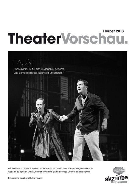 Downloaden Sie die aktuelle TheaterVorschau für den ... - Akzente