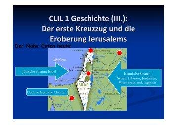 CLIL 1 Geschichte (III.) - Liceo Classico Psicopedagogico Cesare ...