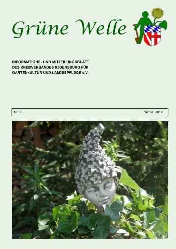 Grüne Welle - OGV-Kreisverband Regensburg