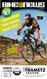 BIKE NEWS 2012 – Sport Strametz