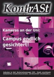 Campus endlich gesichtert! - AStA Uni Hannover