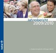 Jahresbericht Bethel - Spenden